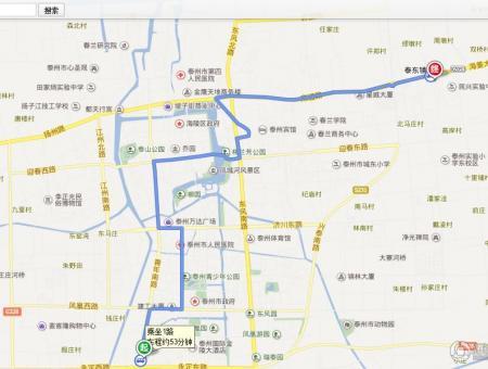 凤城颐园交通图