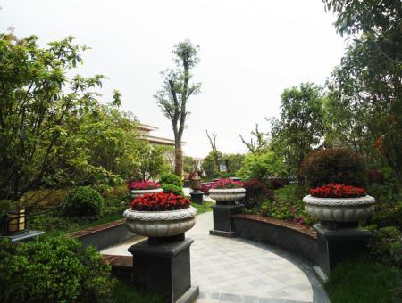 万泰国际花园 别墅实景图