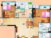 多层J475-A三室两厅两卫