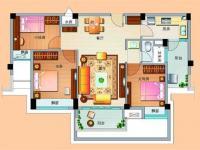 高层J636-B三室两厅一卫