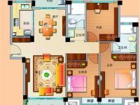 高层J636-C三室两厅两卫