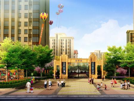 紫荆城效果图