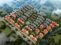 紫荆城三期小高层鸟瞰图