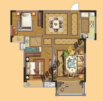 地段学区都不少 老街旁90平米两房总价46万起