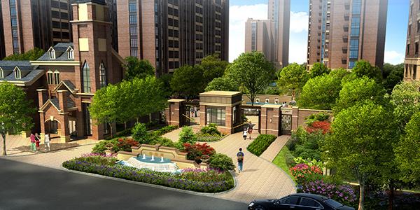 三开间朝南+套房设计 评汇鸿·香榭湾122方户型