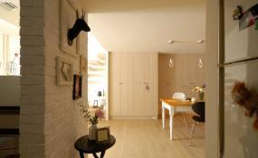80平米小户型现代简约风格客厅装修效果图
