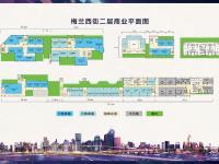 商业平面图2层